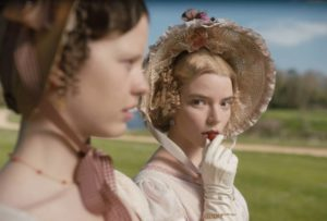 The new Emma 2020 promo image - Jane Austen Retelling