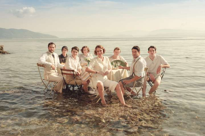 Durrells in Corfu cast photo