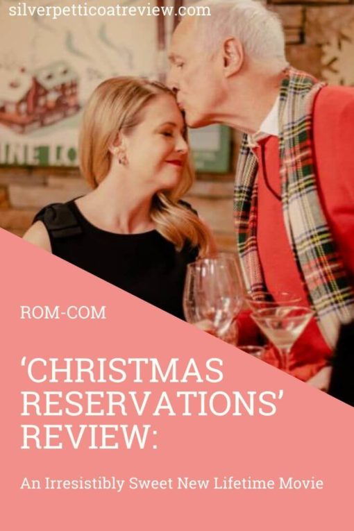 Christmas Reservations Review: An Irresistibly Sweet New Lifetime Movie: Pinterest Image