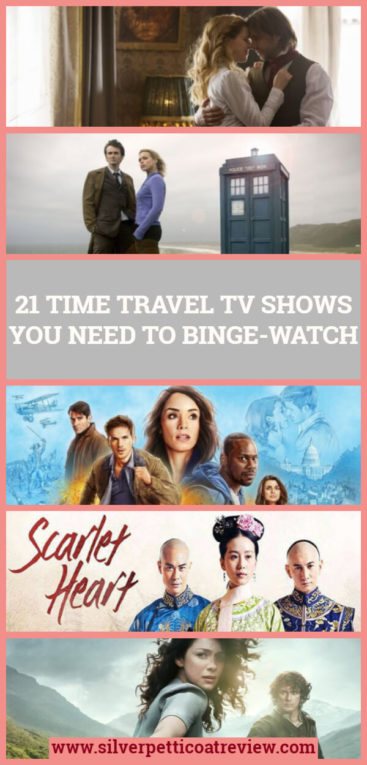 21 Time Travel TV Shows You Need to Binge-Watch: Pinterest image