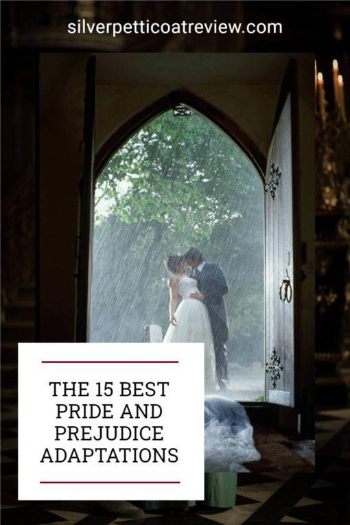 THE 15 BEST PRIDE AND PREJUDICE ADAPTATIONS; pinterest image of Bride and Prejudice