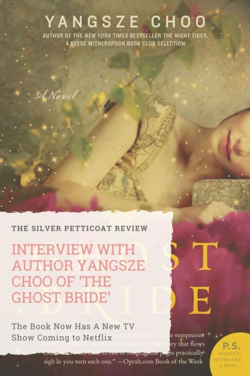 Interview With Author Yangsze Choo Of 'The Ghost Bride': Pinterest graphic