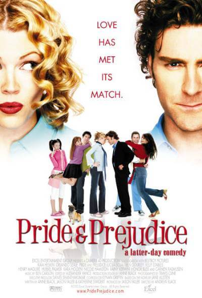 Pride and Prejudice: A Latter-Day Comedy movie poster; 15 of the Best Pride and Prejudice Adaptations, Ranked