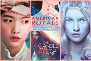 THE SILVER PETTICOAT REVIEW'S 25 BEST YA NOVELS OF 2019: Book Covers include The Downstairs Girl, American Royals, The Candle and the Flame, and Stain