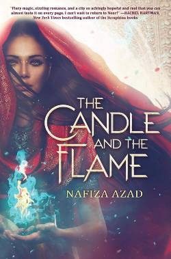 The Candle and the Flame Book Cover: The Silver Petticoat Review's 25 Best YA Novels of 2019