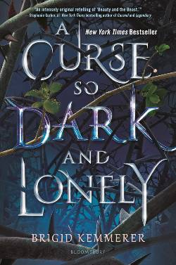 A Curse so Dark and Lonely Book Cover: The Silver Petticoat Review's 25 Best YA Novels of 2019