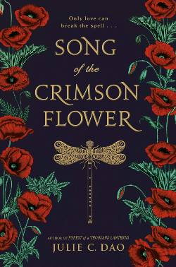 Song of the Crimson Flower Book Cover: The Silver Petticoat Review's 25 Best YA Novels of 2019