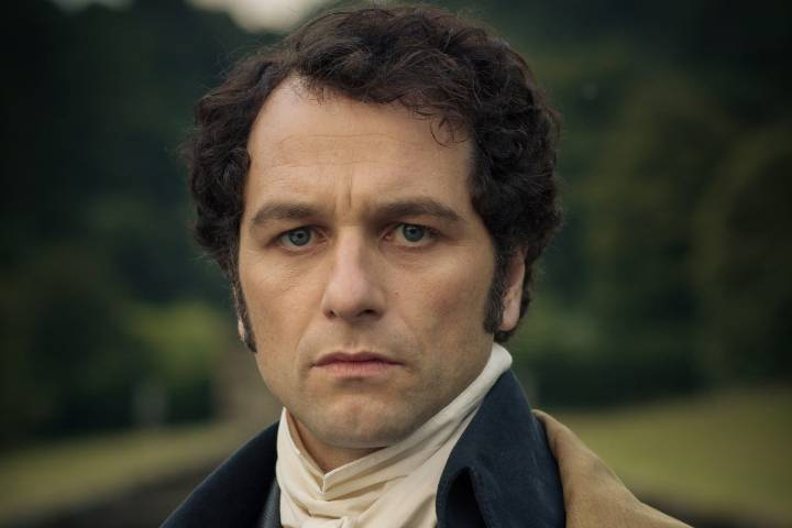 Matthew Rhys in Death Comes to Pemberley; ranking the best mr. darcy's
