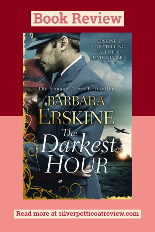 The Darkest Hour book review pinterest graphic