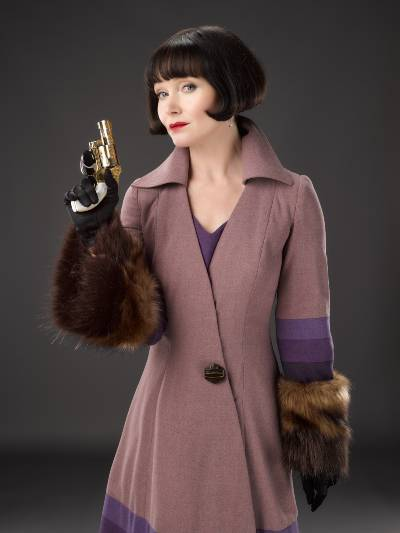 Miss Fisher and the Crypt of Tears; fashion of Phryne Fisher