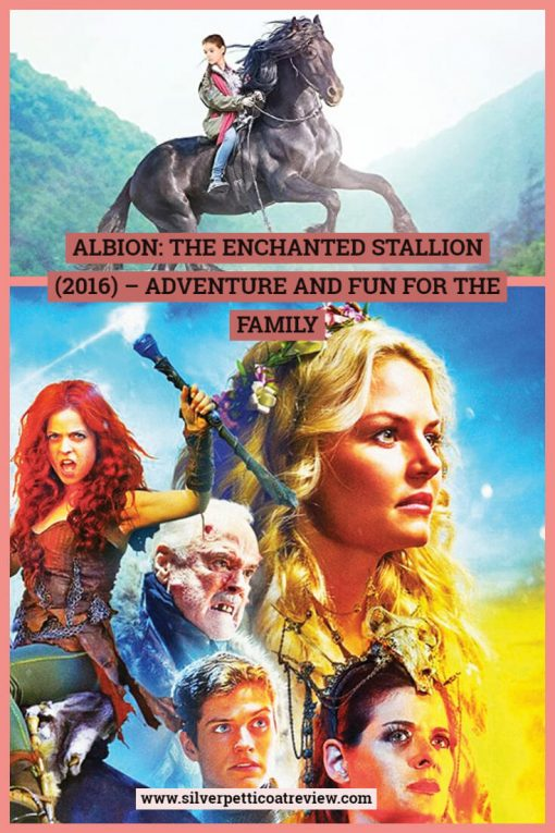 Albion: The Enchanted Stallion is a fairy tale quest the whole family can enjoy. Pinterest Graphic