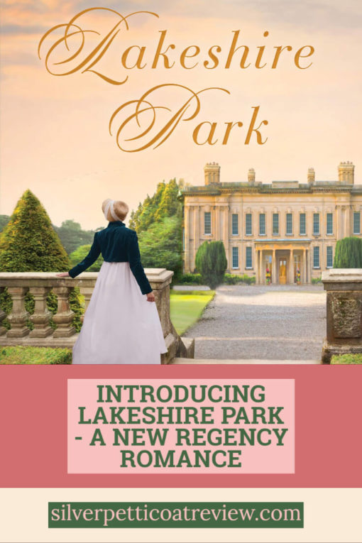 Introducing Lakeshore Park (A New Regency Romance) - Guest Post by Megan Walker - Pinterest Graphic