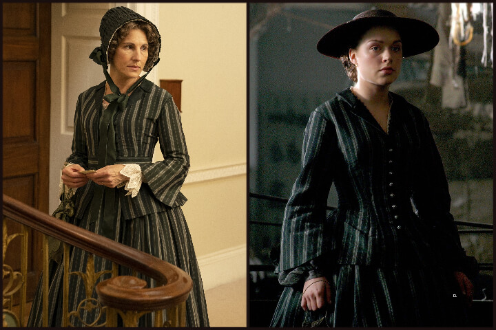 Belgravia vs North and South Costume comparison.