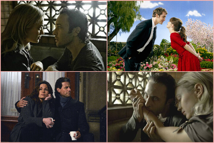 Paranormal romances to binge-watch collage