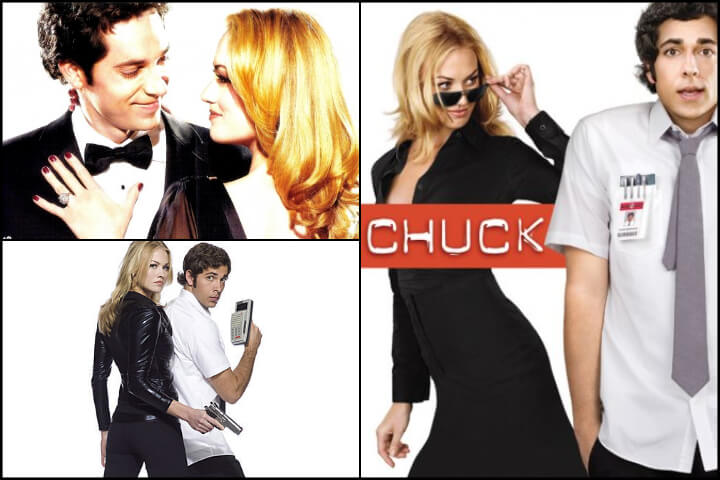 Chuck tv show; romances to binge-watch