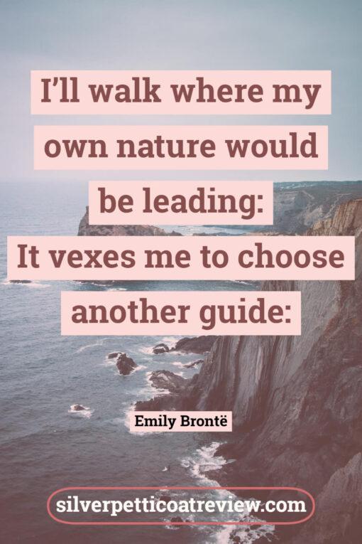 Emily Bronte poem