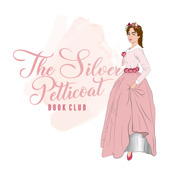 The Silver Petticoat Book Club logo