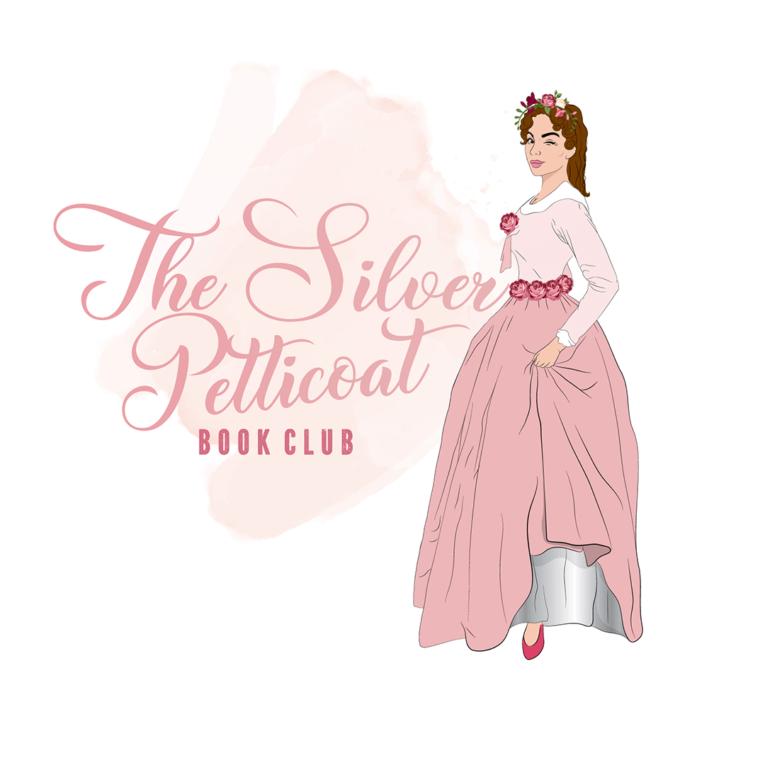 The Silver Petticoat Book Club logo
