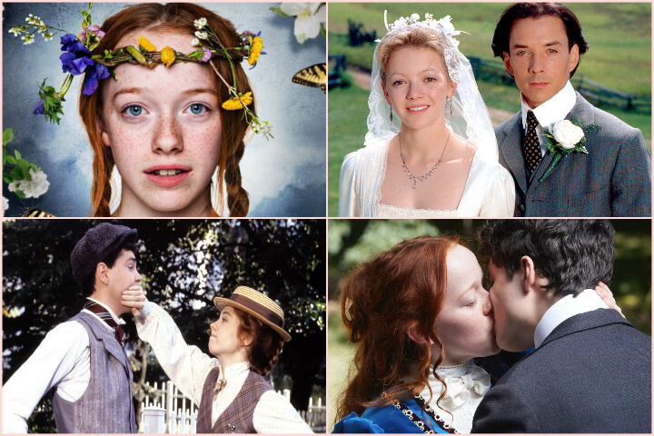 Avonlea, Anne with an E, Anne of Green Gables collage; romances to binge-watch