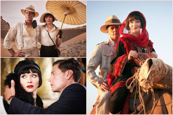 Miss Fisher's Murder Mysteries collage