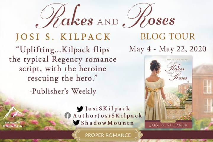 Rakes And Roses Blog Tour graphic
