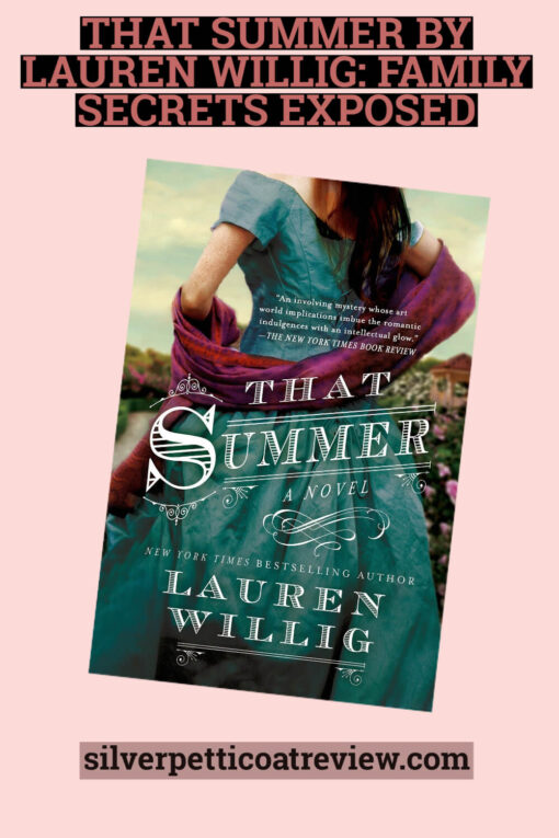 That Summer By Lauren Willig (A Review): Pinterest Picture