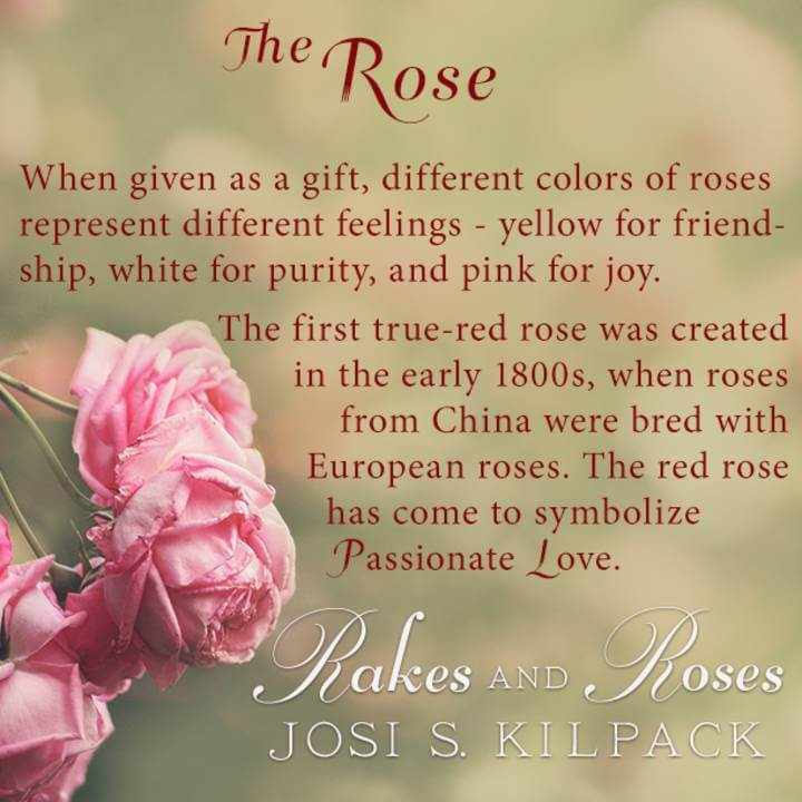 Rakes and Roses blog tour; information about the symbolism of roses