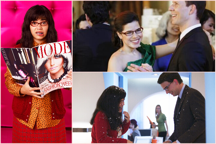 Ugly Betty collage