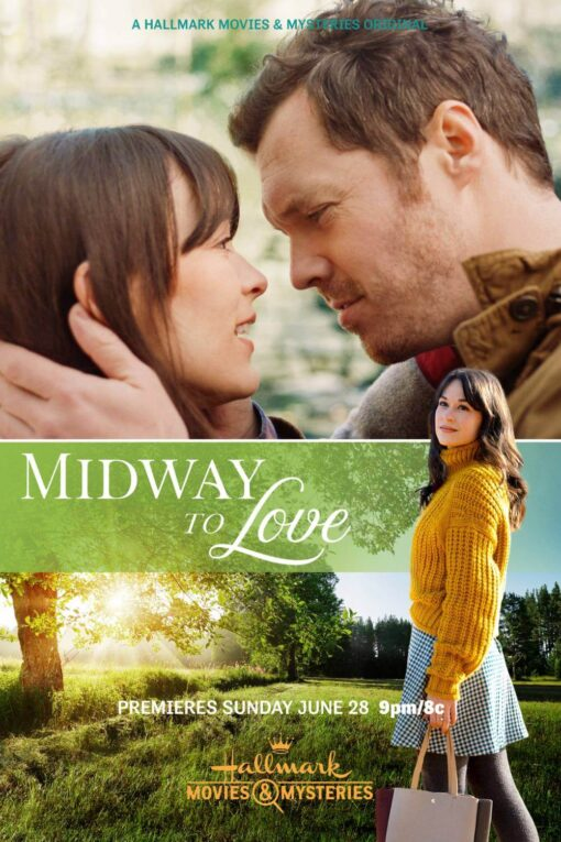 Midway to Love poster; new Hallmark movies in June 2020
