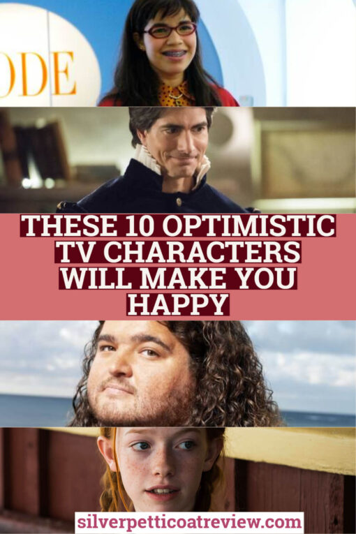 These 10 Optimistic TV Characters Will Make You Happy;  Pinterest Graphic