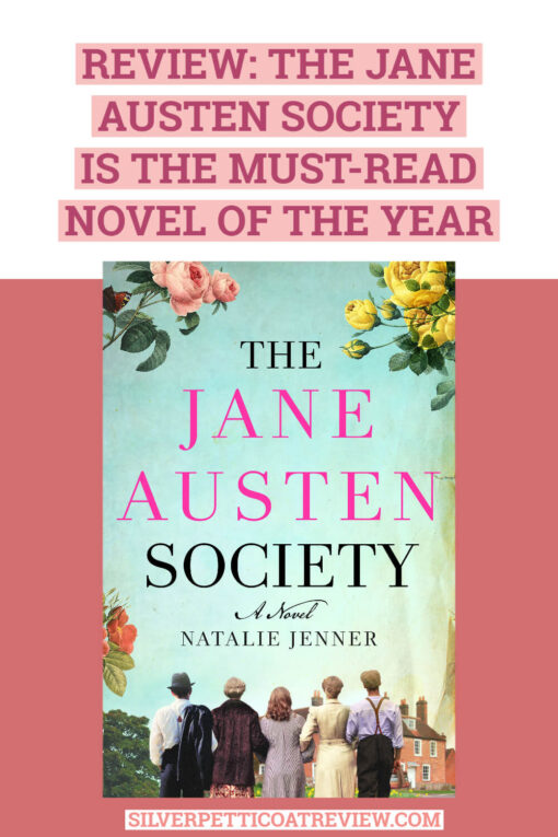 Review: The Jane Austen Society is the Must-Read Novel of the Year: Pinterest Graphic