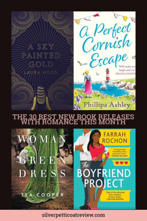 The 30 Best New Book Releases with Romance this Month Pinterest Image