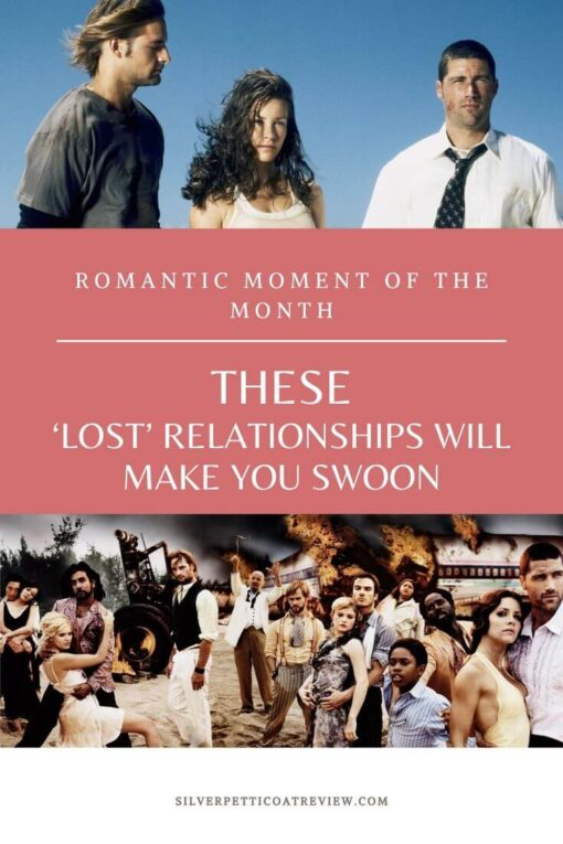 Romantic Moment of the Month: These 'Lost' Relationships Will Make You Swoon Pinterest Image