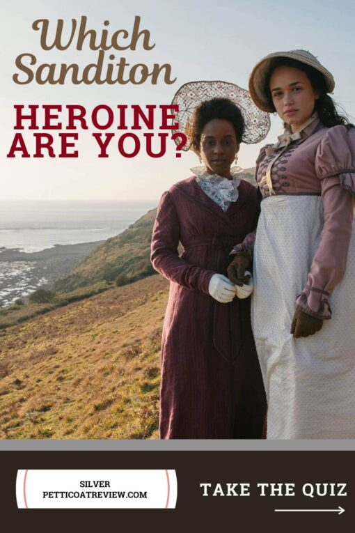 Which Sanditon Heroine Are You? Take the New Quiz: Pinterest image