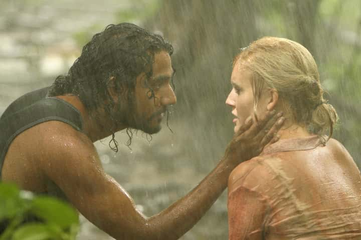 Shannon and Sayid