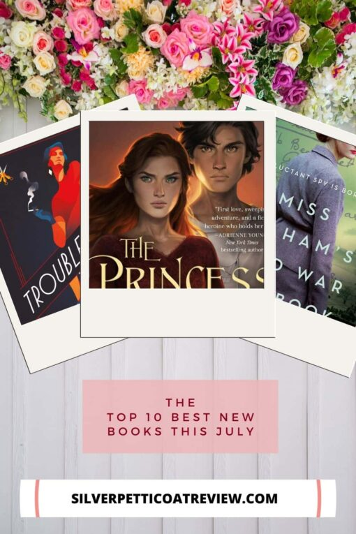 The Top 10 Best New Books This July Pinterest Image