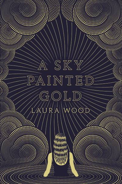 A Sky Painted Gold Book Cover