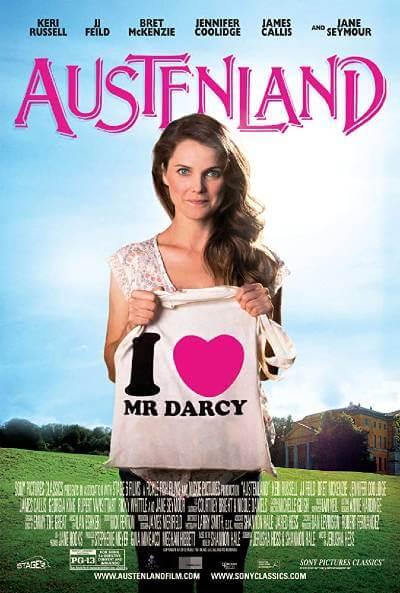 Austenland poster; where to watch jane austen movies