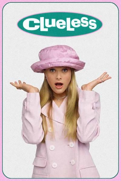 clueless tv poster