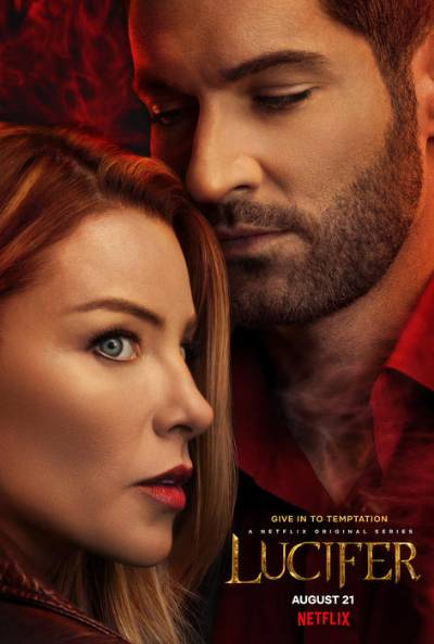 Lucifer season 5 poster; best new movies and shows in August 2020