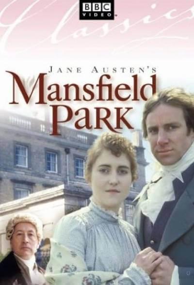 Mansfield Park 1983 poster; where to watch jane austen movies