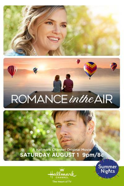 Romance is in the Air (Hallmark Summer Nights poster); best new movies and shows in August 2020