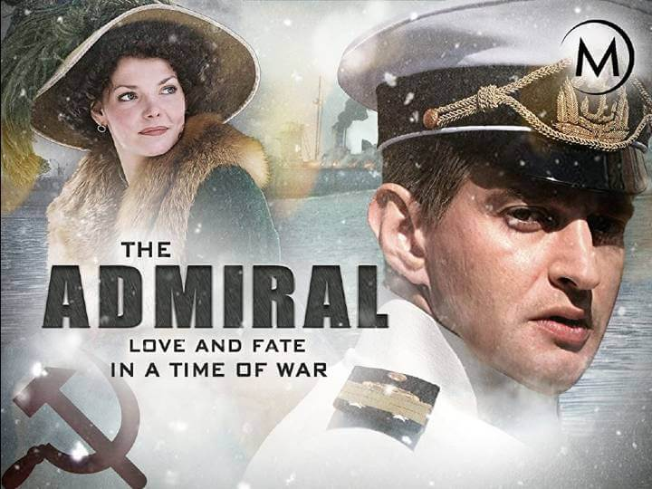 The Admiral promotional poster; period dramas on amazon prime