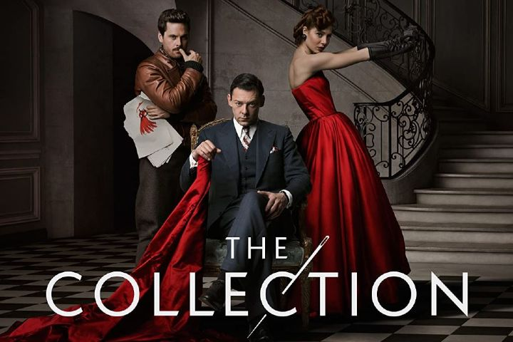 The collection promotional poster; period dramas on amazon prime