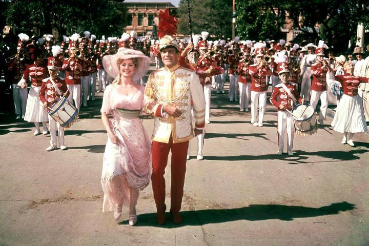 The Music Man image; romantic 4th of July movies