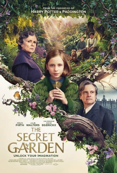 The Secret Garden 2020 film poster