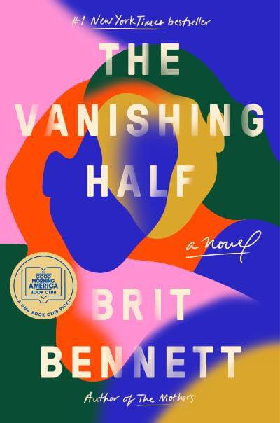 The Vanishing Half by Brit Bennett book cover