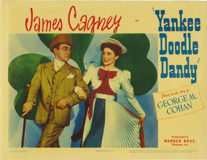 Yankee Doodle Dandy classic movie poster; 4th of July movies