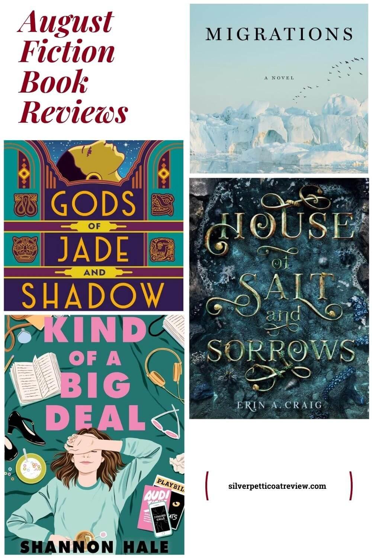 August Fiction Book Reviews