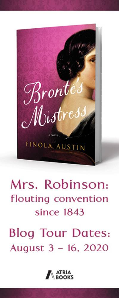 Bronte's Mistress Blog Tour information. Blog Tour Dates August 3 - 16, 2020